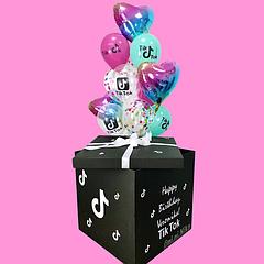 Коробки сюрприз с шарами