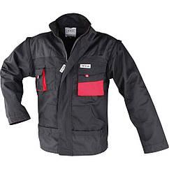 Куртка рабочая чёрно-красная, размер S YATO YT-8020