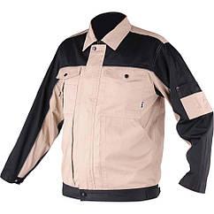 Куртка рабочая DOHAR, размер XL; 65% - полиэстер, 35% - хлопок YATO YT-80438