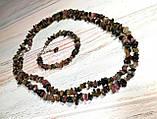 Набор из Турмалина бусы длинные + браслет \ Sn - 0005, фото 4