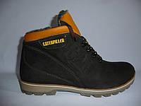 Мужские зимние  ботинки Caterpillar.