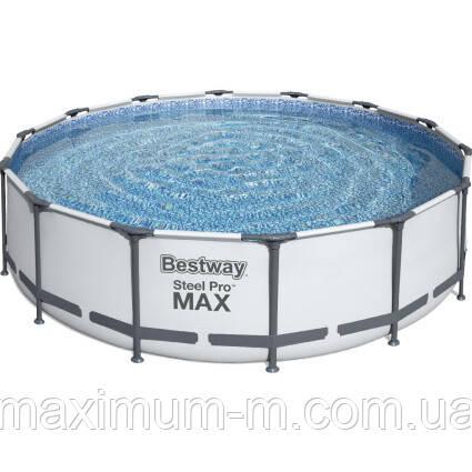 Bestway Надувний басейн Bestway 56438 (457х122) з картриджних фільтрів