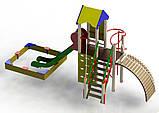 """Детский игровой комплекс """"Пирамида"""". Детская Площадка высокого качества., фото 2"""