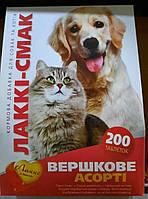 Лакки Витамины для собак сливочное ассорти Лакки-Вкус 200таб