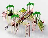 """Большой Игровой комплекс """"Остров"""". Детский игровой городок. Детский замок., фото 2"""