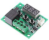 Терморегулятор термостат с индикацией 12В W1209, фото 2