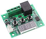 Терморегулятор термостат с индикацией 12В W1209, фото 4