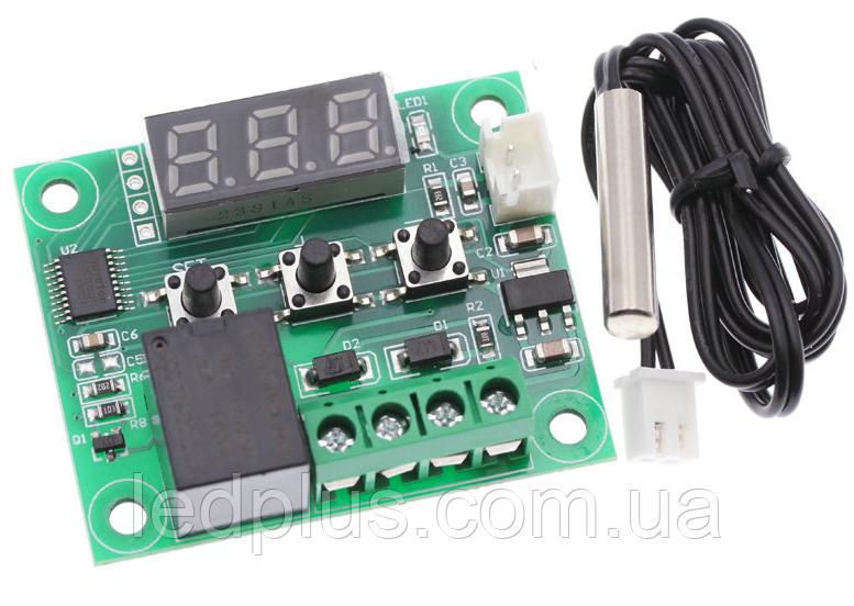 Терморегулятор термостат с индикацией 12В W1209