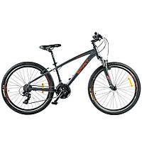 """Велосипед Spirit Spark 6.0 26"""", рама S, темно-серый/матовый, 2021 spirit bikes,"""