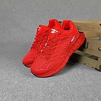 Мужские кроссовки Reebok Рибок Zig Kinetica, красные 42