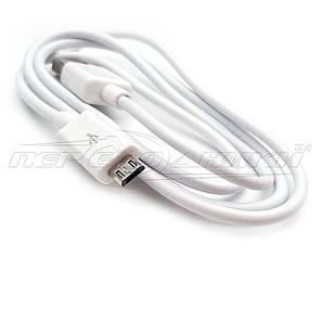 Кабель USB 2.0 - micro USB (эконом качество), 0.9 м белый, фото 2