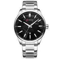 Curren 8366 Silver-Black, фото 1