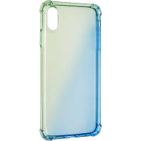Ultra Gradient Case for iPhone XS Max Blue/Green