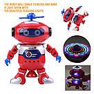 Интерактивный танцующий светящийся робот Dancing Robot детская игрушка со светомузыкой, фото 5