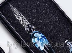 Подарочная перьевая ручка  Голубой