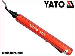 Ніж для зняття фаски і окалини з внутрішньої частини труб Yato YT-22360