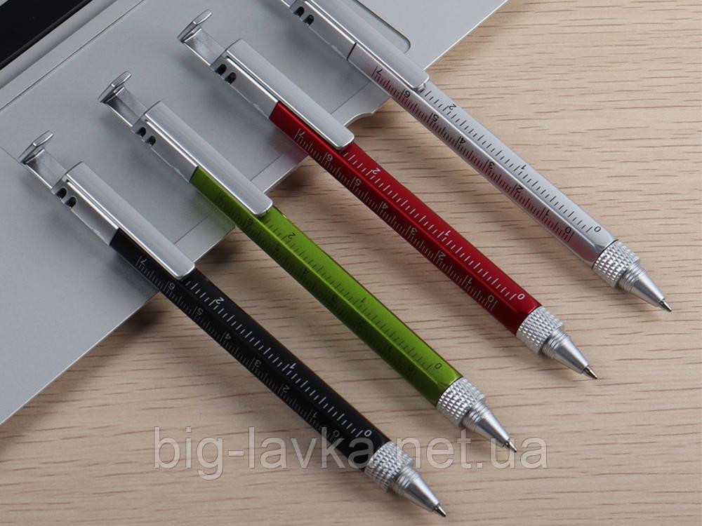 Многофункциональная шариковая ручка 5 в 1  Черный