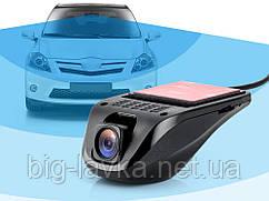 Компактний відеореєстратор Dash Cam USB HD 720P