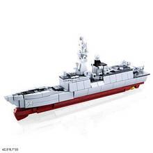 Конструктор M38-B0702 Model Bricks військовий корабель 417дет.кор.42,5*6,7*33 /12/