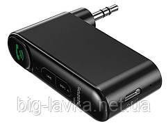 Bluetooth 5.0 приемник Baseus c AUX выходом 3.5 мм с микрофоном для автомагнитол