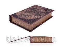 Книга схованку Карта світу M 26 см х 17 см х 4,5 см