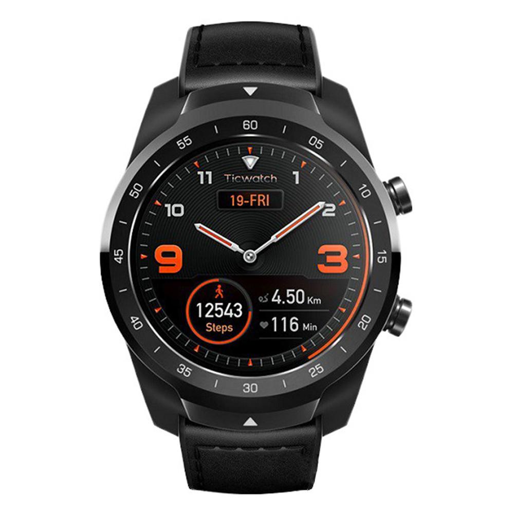 Смарт-часы Mobvoi TicWatch Pro Elegant WF12106 (Черные)