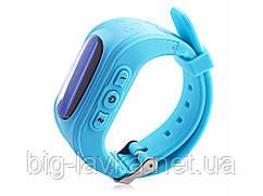 Дитячі годинник з GPS SQ50 трекером Синій