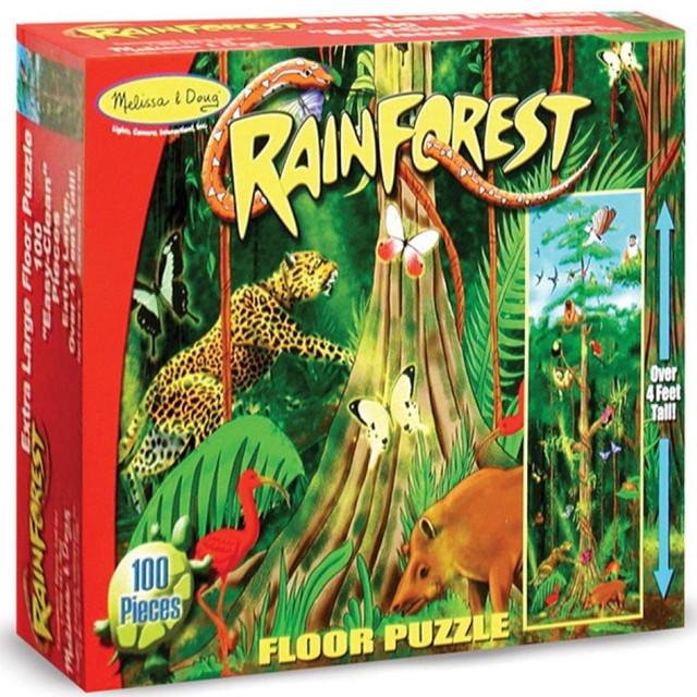 Напольный пазл в коробке Rain Forest (