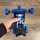 ОПТ Радиуправляемая машина трансформер Ламборджині UTM з пультом синя робот акумуляторна, фото 5