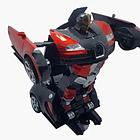 ОПТ Радиуправляемая машина трансформер Bugatti Robot Car с пультом бугатти красная робот, фото 7