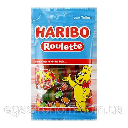 Желейки Харібо рулетка Haribo roulette 175g 32шт/ящ (Код : 00-00005697)