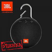 Акустика JBL Clip 3 Black ОРИГИНАЛ!