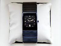 Мужские часы Rado ceramica AAA наручные кварцевые с календарем даты на керамическом браслете