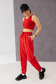 Женские спортивный штаны с кантом