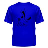 Мужские футболки с принтами Злая рожица, хлопок, на заказ