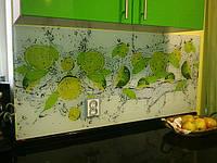 Стеклянные стеновые панели для кухни. Изготовление, монтаж, Киев