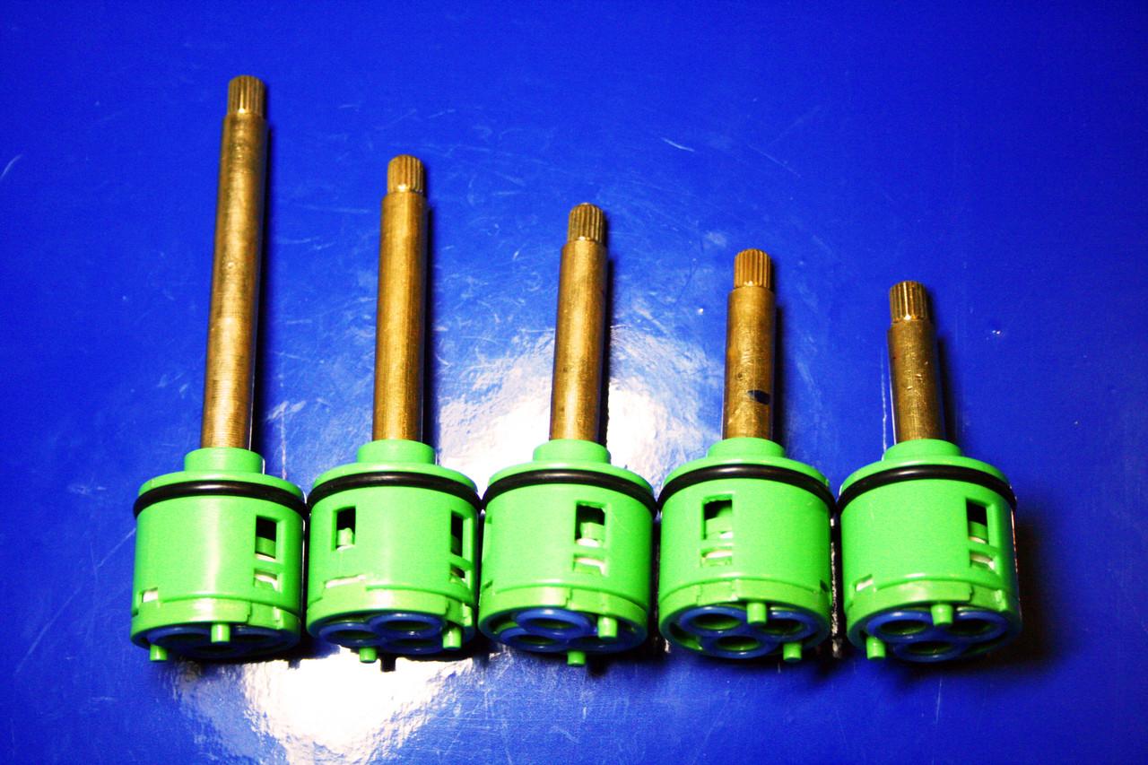 Картридж в смеситель для душевой кабины на три ( 3 ) положения, 33 мм диаметром ОПТОМ от 10 шт.