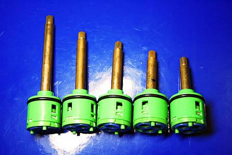 Картридж в смеситель для душевой кабины на три ( 3 ) положения, 33 мм диаметром ОПТОМ от 10 шт., фото 2