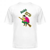Женская, летняя футболка, прикольный рисунок  Баба ЕГЭ