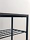 Полка металлическая для обуви J4 LOFT (обувница лофт, полка для обуви в стиле Лофт), фото 4