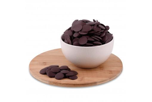 Глазурь монетки черный шоколад 100 грамм