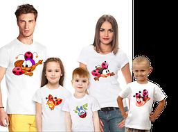"Футболки Фэмили Лук Family Look для всей семьи ""Божьи коровки"" Push IT"