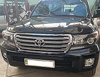 Передние фары под рестайлинг Toyota Land Cruiser 200