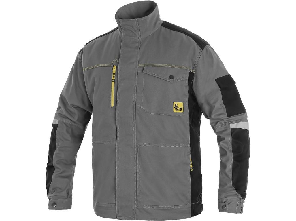 Куртка рабочая CXS STRETCH, серый/черный, пл.250г/м2