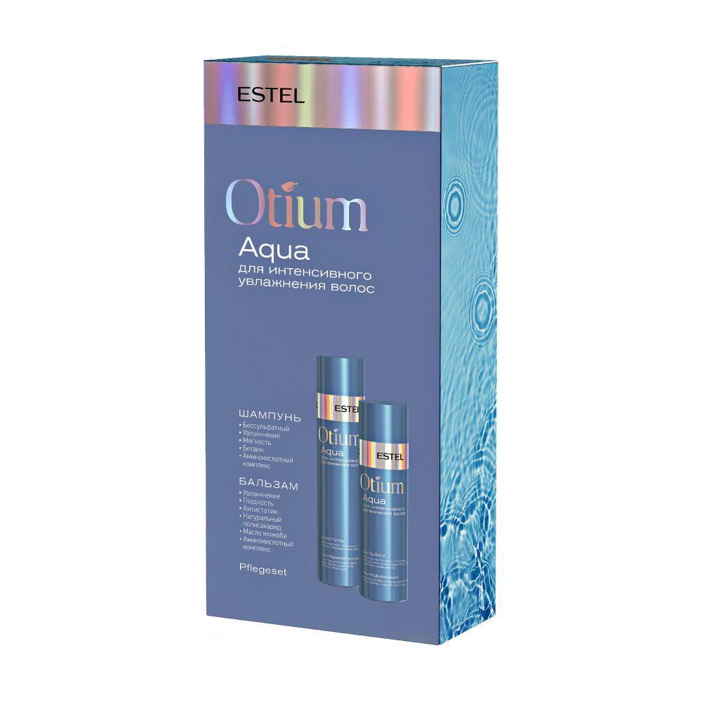 Набір Estel Otium Aqua для інтенсивного зволоження волосся шампунь + бальзам 250 / 200 мл
