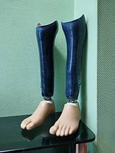 Декорированые протезы голени стопа 1А30