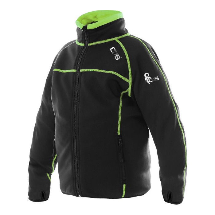 Трикотажна Куртка, дитяча, CXS TORONTO, чорно-салатовий