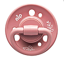 Кругла пустушка Nip Вишенька Зелена серія, 0-6 міс., рожевий, 2 шт. (91012), фото 2
