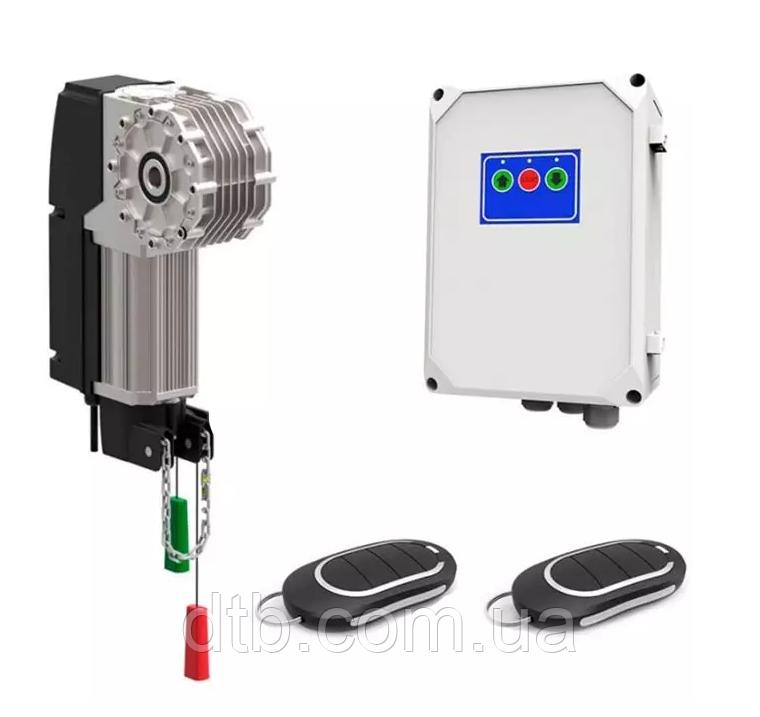 Комплект автоматики Alutech Targo TR-13018-400KIT вальний привід для воріт промислових секційних