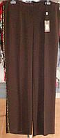 Літні шоколадно-вишневі штани батал Tereza, фото 1